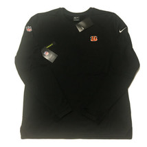 Nike Cincinnati Bengals Men's Large On Field Performance Sweatshirt Burr... - $49.99