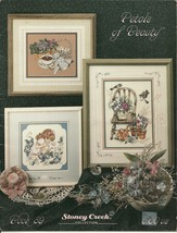Petals of Beauty Cross Stitch Pattern Booklet No 89 Stoney Creek Collection  - $6.99