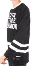 40 OZ Forty Ounce NYC Men's Black Dishonor Flatback Sweater Sweatshirt NWT image 2
