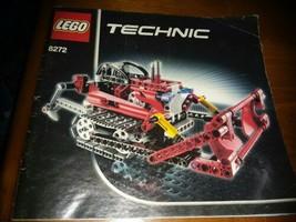 8272 Lego Technic Bulldozer Instruction Book Manual Only - $2.97