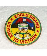 """Borden's EAGLE BRAND 1995 Voyage to Victory Pin 2"""" - $4.95"""