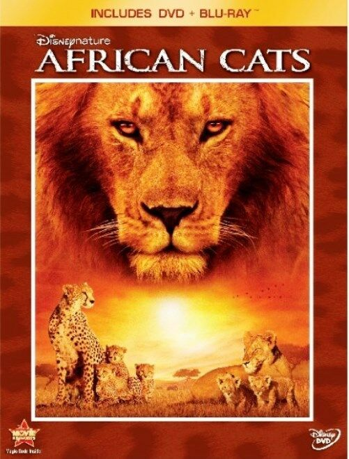 Disneynature: African Cats (2011 Blu-ray/DVD, 2-Disc Set, Widescreen) NEW/SEALED