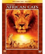 Disneynature: African Cats (2011 Blu-ray/DVD, 2-Disc Set, Widescreen) NE... - $6.78