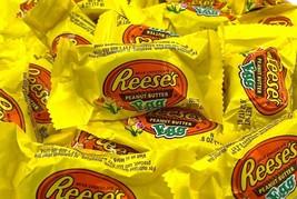 REESE'S Peanut Butter Milk Chocolate Eggs Candy, Bulk Pack 3 Lbs - $22.30