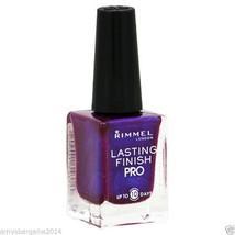 Rimmel Lasting Finish Pro 350 Violet Metal Purple Nail Polish - $5.49