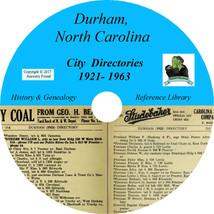 DURHAM North Carolina CITY DIRECTORY - History & Genealogy - 30 Books on... - $6.76