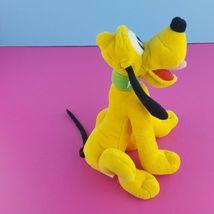 "Disney Plush Pluto Stuffed Animal 8"" Sitting Dog Mickey Mouse   image 4"