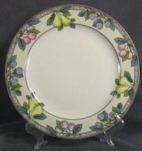 Studio Nova Garden Gallery HG246 Rimmed Dinner Plate Fruits - $17.95