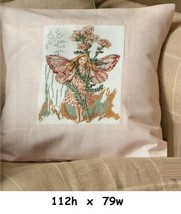 THE YARROW FAIRY  -   CROSS STITCH PATTERN  ONLY   EQ - RYW - $9.36