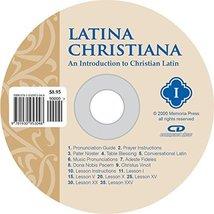 Latina Christiana I, Pronunciation CD [Jun 01, 2005] Cheryl Lowe - $17.99