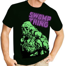 Swamp Thing (DC Comics) - Mens Black Tee Shirt - $16.70