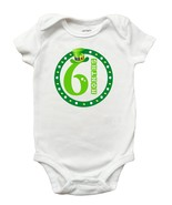 St Patricks Day March Month Romper (Size Newborn - 18 Months) - $9.99+