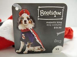 "Bootique XS Majestic King Dog Pet Costume Halloween X-Small New 11-13"" 2... - €13,94 EUR"
