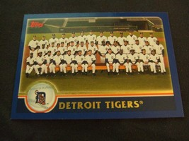 2003 Topps #640 Detroit Tigers Team Card - $3.12