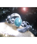 HAUNTED RING THE POWERS OF SUPERNATURAL OMNIPOTENCE OOAK SECRET MAGICK MAGICKAL - $9,737.77