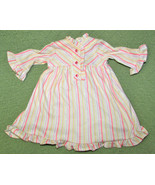 "AMERICAN GIRL KIT KITTERIDGE NIGHTGOWN PINK STRIPED PAJAMAS PJs FOR 18"" ... - $16.39"