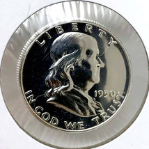 1950 Proof Franklin Half Dollar - Gem Proof - PF / PR - $377.45