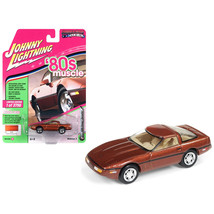 1988 Chevrolet Corvette Dark Bronze Metallic 80s Muscle Limited Edition ... - $14.35