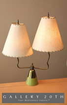 RARE! MID CENTURY MODERN ATOMIC TABLE LAMP! 50S 60S EAMES VTG SPACE AGE ... - €1.112,14 EUR