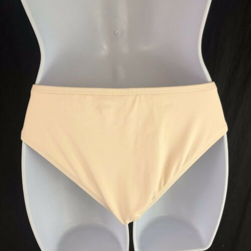 L Space Estella Side Cut Out Bikini Bottoms Full Cut Hipster Womens S Small