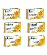 Himalaya Herbals Honey and Cream Soap, 125g (Pack of 6) - $30.30