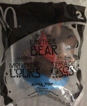 2003 McDonald's Disney's BROTHER BEAR - KODA BEAR TOP Happy Meal Toy #2 ... - $2.50