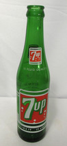 Vintage 7 UP 10 Oz. Green Soda Bottle You Like It - It Likes You - $19.79