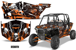 Sikspak Polaris Rzr 1000 4 Door Kit Grafico Utv Decalcomania Wrap 2013 + Rebirth - $615.28