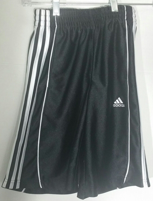 Adidas Boys Shorts Small 8 S Black White and 50 similar items