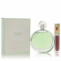 Untold Eau Fraiche Eau De Toilette Spray With Lipstick 3.3 Oz For Women  - $60.95