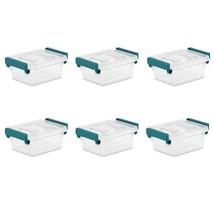 Sterilite, 1.2 Qt./1.1 L Modular Latch Box, Case of 6 - $26.30