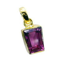 cute Pink CZ Gold Plated Pink Pendant genuine freely US gift - $9.89