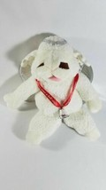 SHARI LEWIS baby lamb chop angel HAND PUPPET 1993 exclusive target red ribbon - $14.85