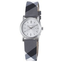 Burberry BU1386 Beat Check Silver Dial Women's Watch - $367.07