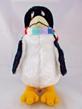 "Dakin Sea World Penguin Plush w/ Scarf 11"" 1981 Stuffed Animal - $8.24"