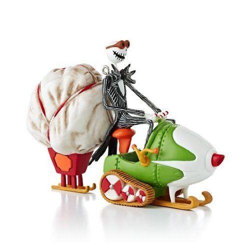 """Hallmark 2013 """"Jack's Sleigh o' Scares"""" Ornament"""