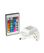Flashtech 24 key IR Wireless RGB control Module with 4 connectors for Ha... - $12.23