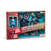 Diamond Select Captain America 8 inch action figure Retro Set px exclusive - $104.99