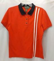 Women's Large Lauren Active Snap Front Shirt With Decorative Stripes -F11 - $19.99