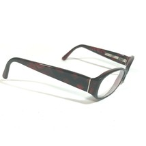 Burberry Dark Red Black Plaid Check Oval Eyeglass FRAMES ONLY B2118 3337... - $46.75