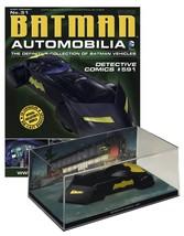 Batman Automobilia #31 Detective Comics #591 Batmobile Eaglemoss Norm Br... - $35.63
