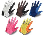 Motorcycle Sport Touch Gloves Summer Breathable Mesh Long Mittens
