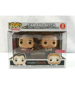 Funko Pop Modern Family Vinyl Cam and Mitch 2 Pack Only at Target Exclusive - $24.99