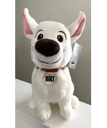 Disney Parks Bolt the Dog 12 inch Plush Doll NEW  - $36.90