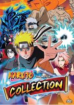 Naruto The Movie Complete Collection movie 1-11 ENG DUB All Region Ship From USA