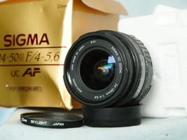 Nikon AF Fit Sigma 24-50mm Boxed Zoom Autofocus Lens  - $25.00