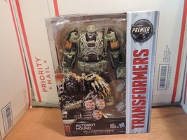 Autobot Hound Transformers The Last Night Premier Edition Action Figure New - $39.99