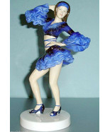 Royal Doulton Dance the Cha Cha Dancer Figurine Limited Edt HN5447 New I... - $249.90