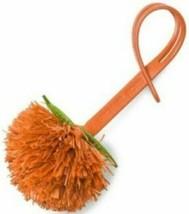 Michael Kors  Nwt Neuheit Tangerine Pom Pom Purse-Charm  Orange Leder - $19.78