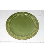 """Everyday Gibson Dinner Plate Dishwasher Microwave and Oven Safe Green 11"""" - $16.03"""